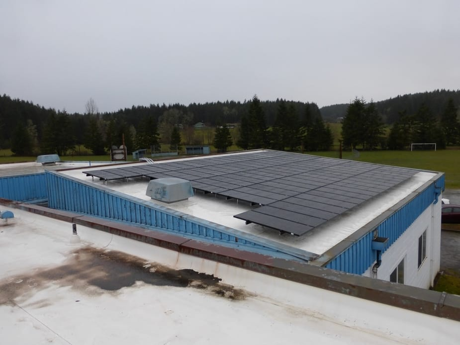 Crow Middle & High School (BEF) - Eugene, Oregon (11.34kW) 2