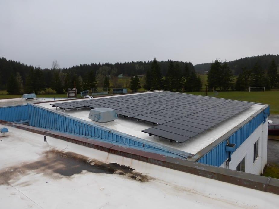Crow Middle & High School (BEF) - Eugene, Oregon (11.34kW) 2