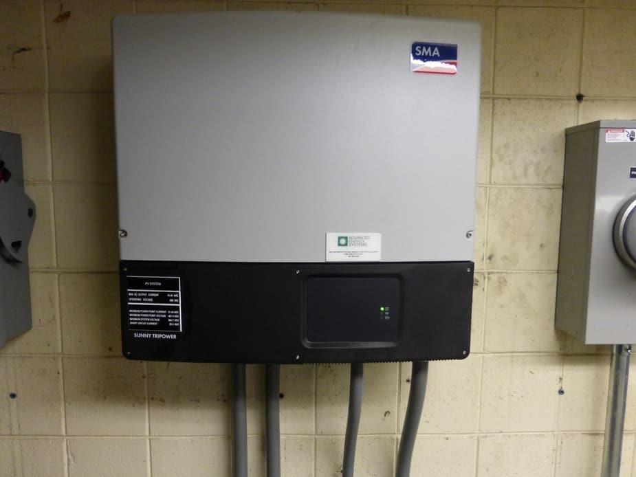 Crow Middle & High School - Solar Photovoltic System - Eugene, Oregon - Inverter (2)