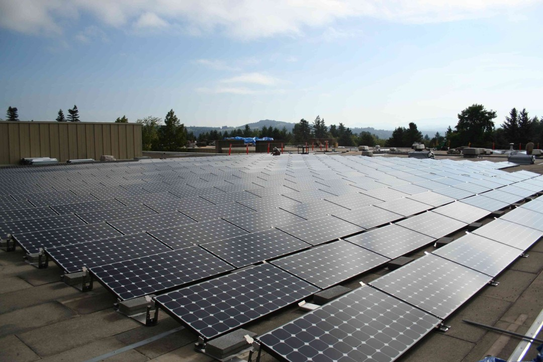 Mount Hood CC solar array roof top