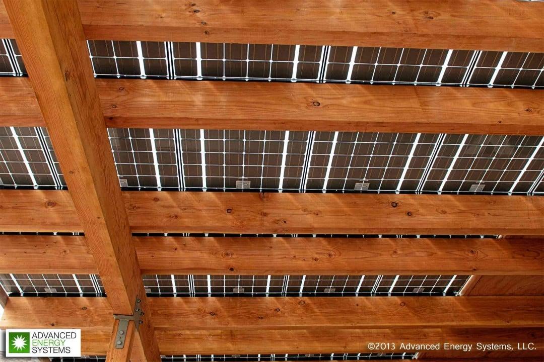 Solar installation by Advanced Energy Systems, LLC. of Oregon