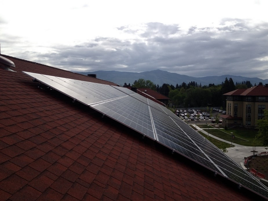 Southern Oregon University - Solar Photovoltic System - Ashland, Oregon - Arrays